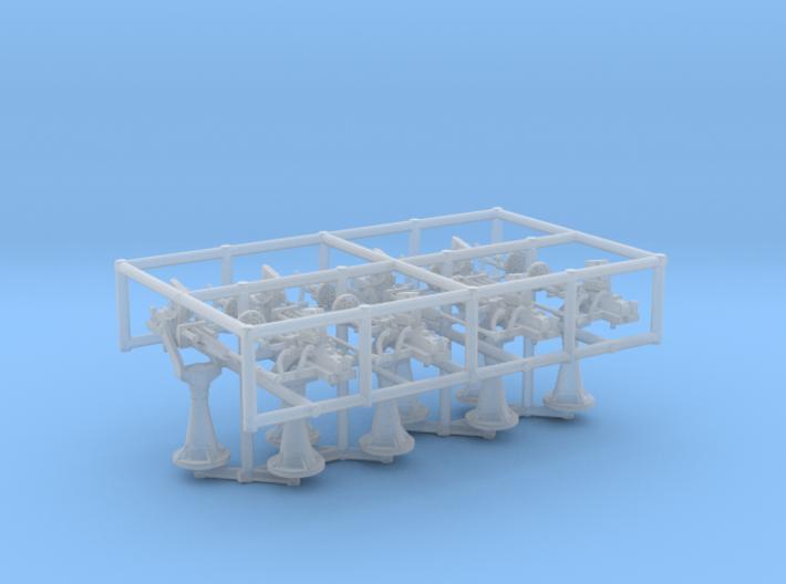 1/96 IJN Type 96 25mm Single Set 8 Units 3d printed