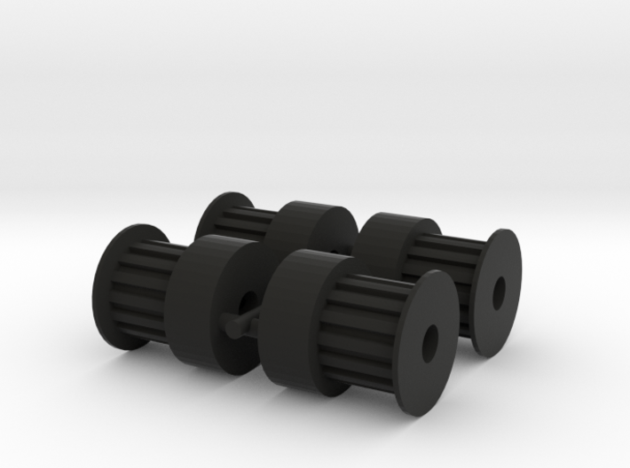 Pulley 15T (4pcs) 3d printed