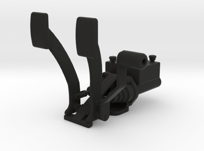 Racing Pedal Box Type 3 - 1/10 3d printed