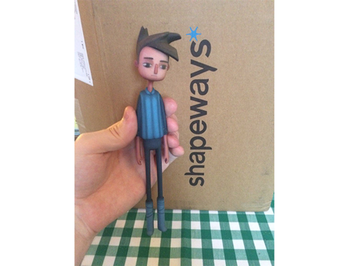 Shay from Broken Age 3d printed Print