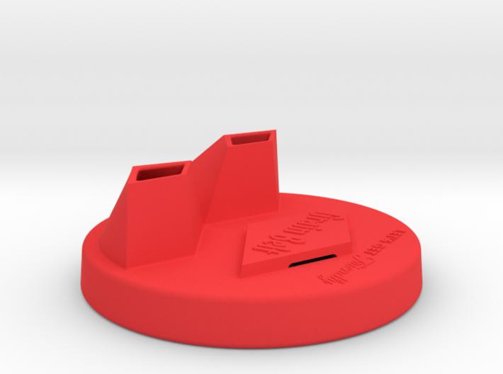Grain Belt Dual Pour Can Topper 3d printed