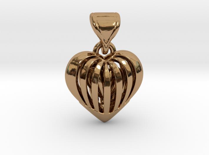Coeur en cage 3d printed