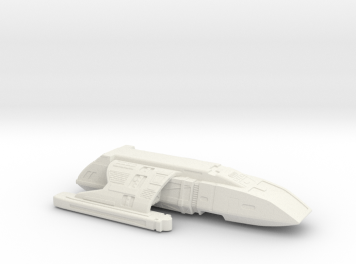 Printle Thing Galactic Starship 1/48 3d printed