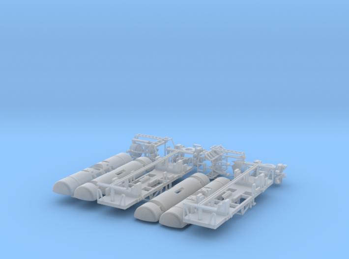 JNR- Taki 10450 type MCP&MC8 2cars set 3d printed