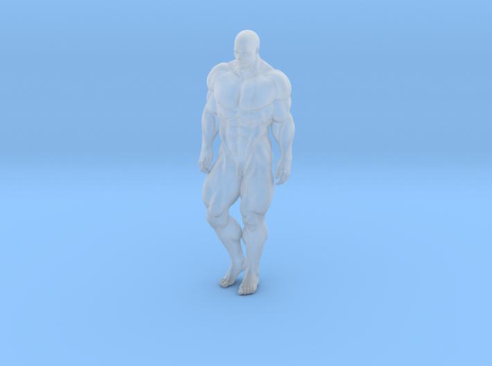 Mini Strong Man 1/64 007 3d printed