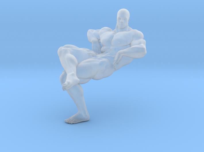 Mini Strong Man 1/64 035 3d printed