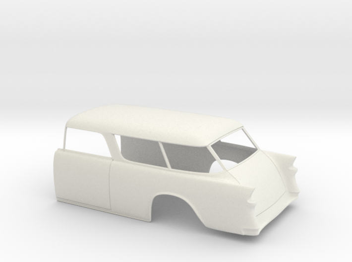 1955 Chevy Nomad Rear 3d printed
