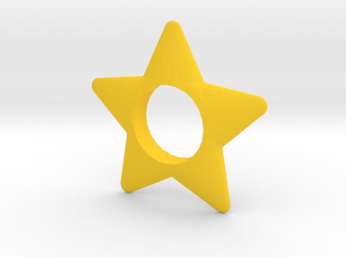 Star Hand Spinner 3d printed