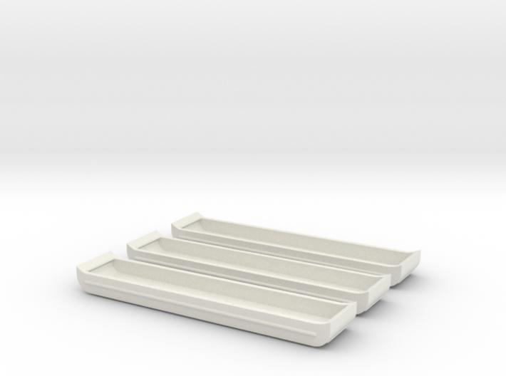 1/144 Scale Bridge Pontoons (3) 3d printed