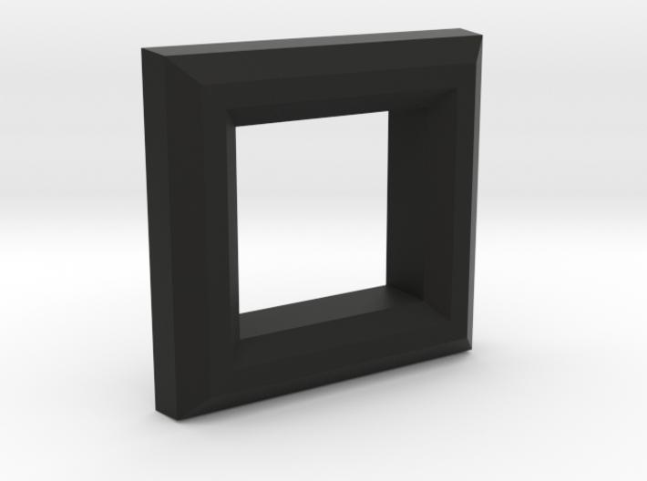 Pinball Coin Door Reject Bezel 3d printed
