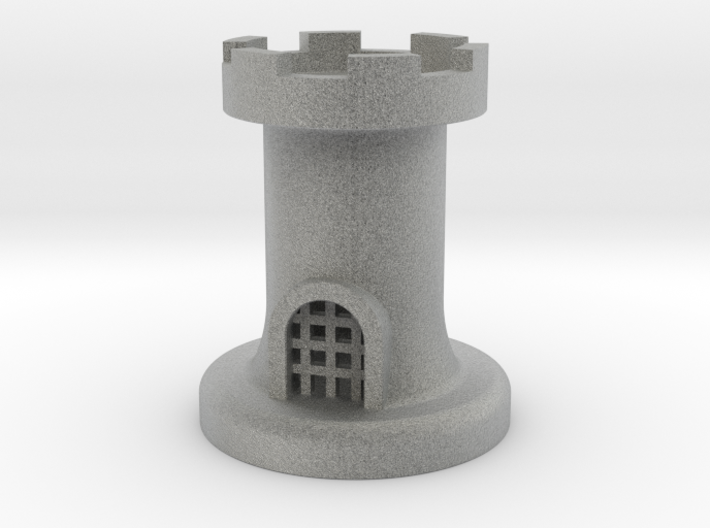 Castle for Chess 3d printed