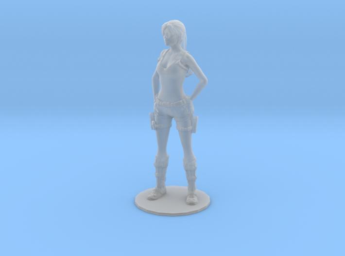 1/20 Tomb Raider Figurine 3d printed