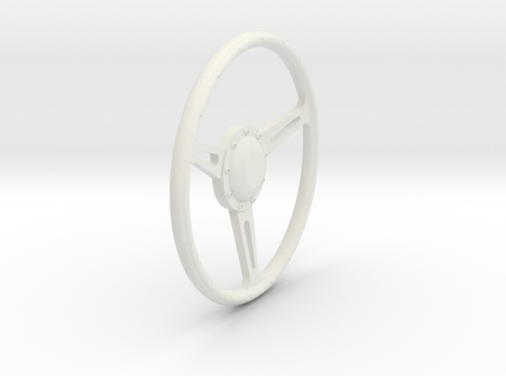 GT500 Steering Wheel 1/12 3d printed