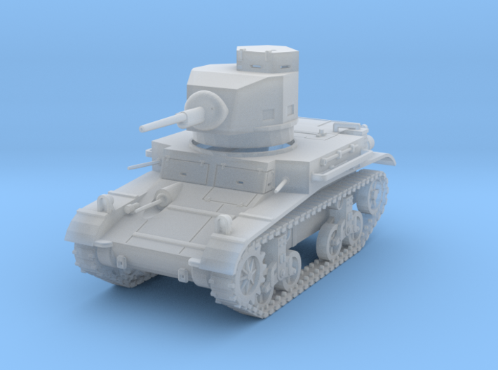 PV47E M2A4 Light Tank (1/87) 3d printed