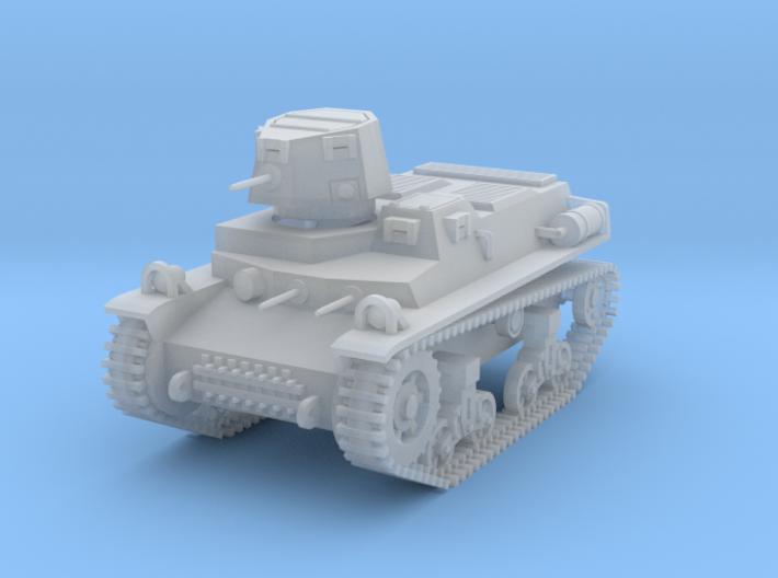 PV57C T16 Light Tank (1/87) 3d printed