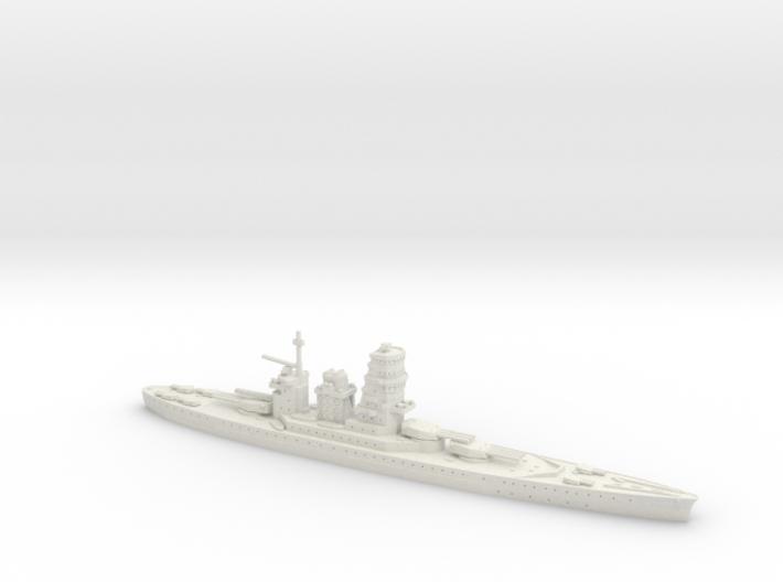 IJN Fujimoto 1/1800 (Fujimoto's Treaty Battleship) 3d printed