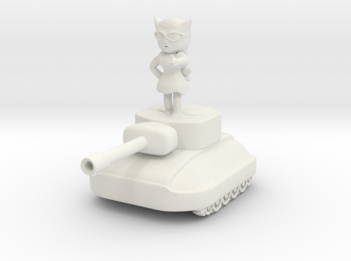 Fiura The Tank Girl Collectible Chibi Figurine #1  3d printed