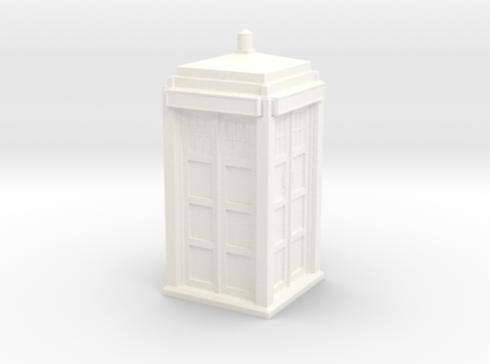 The Physician's Blue Box in 1/35 scale (Hollow) 3d printed