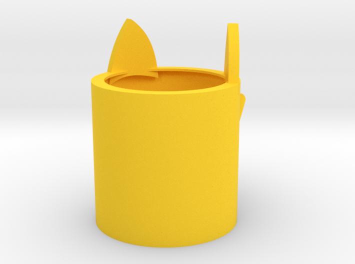 Cat mug 3d printed