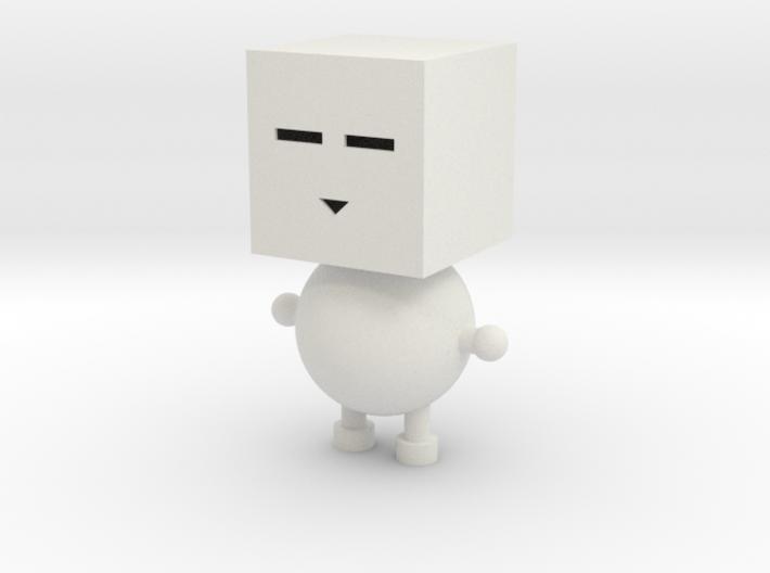 Square people 3d printed