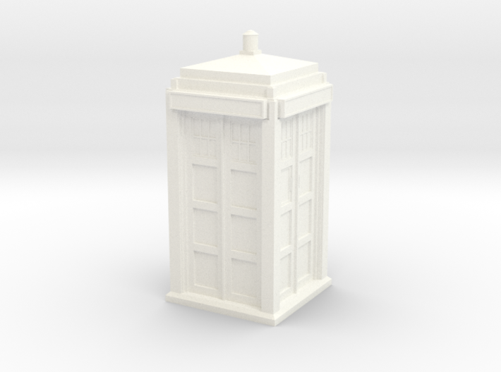 The Physician's Blue Box in 1/72 scale (Hollow) 3d printed
