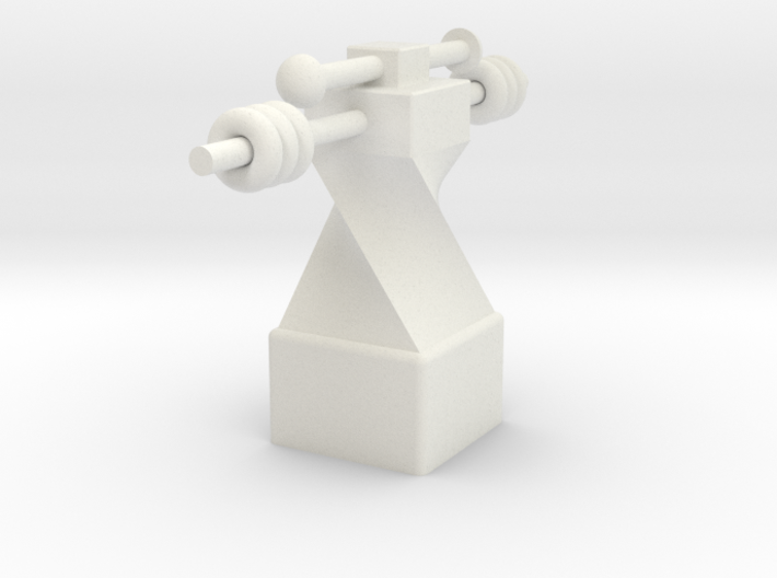 Small fitness trophy 3d printed