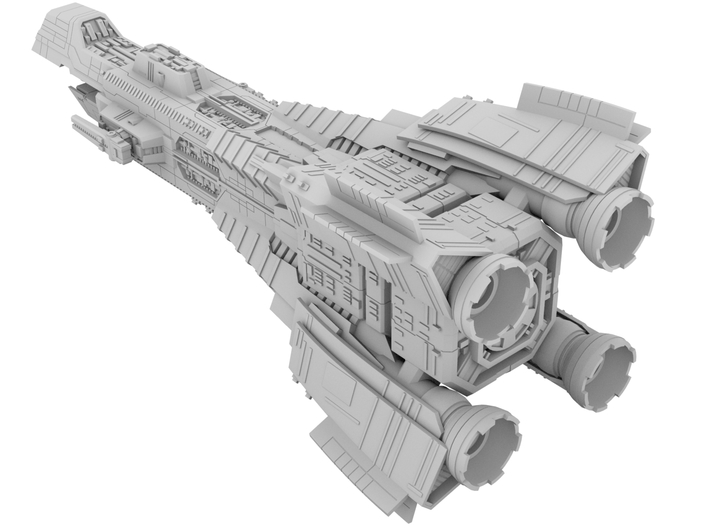 1:2400 Donnanger - The Expanse [200mm] 3d printed