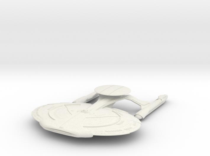 Norcross Class BattleShip With Pod 3d printed