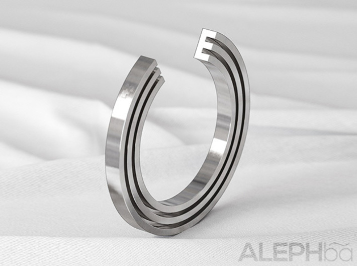 E Ring 3d printed