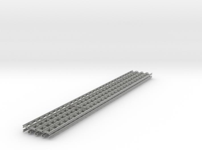 [8st] Geleiderail 30cm H0/1:87 3d printed