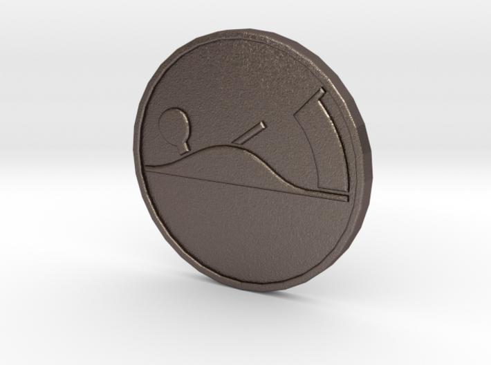 McKenzie Coin Print 3d printed