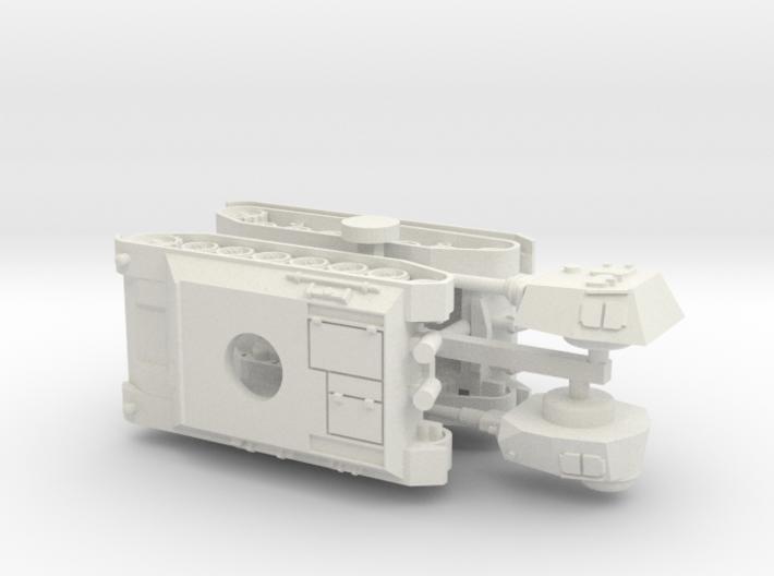 Panzer III / IV Einheitsfahrgestell 1/144 3d printed