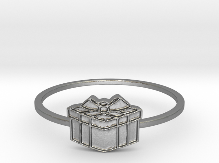 Present Ring (Size 5-10) 3d printed