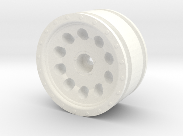 "10 Hole Alloy Wheel, 1.7"" 3d printed"