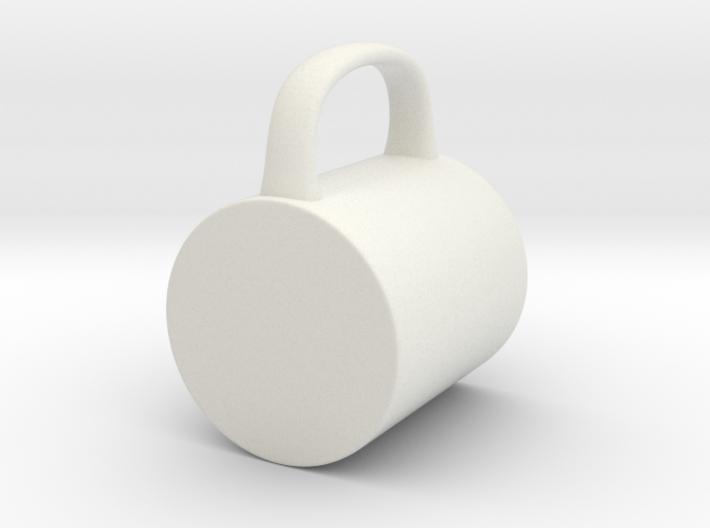 Coffee Mug for BJD: SD 1/3 scale 3d printed