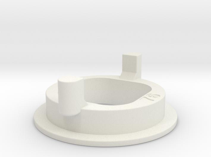 95% Width Gate for Sanwa JLF 3d printed