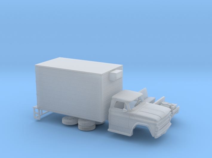 1/87 1962-66 Chevrolet C 50 Delivery Box 3d printed