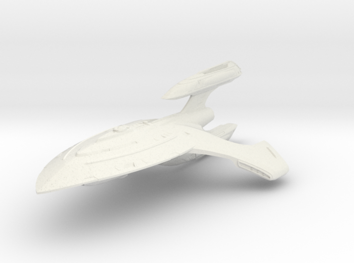 Shark Class BattleDestroyer II 3d printed