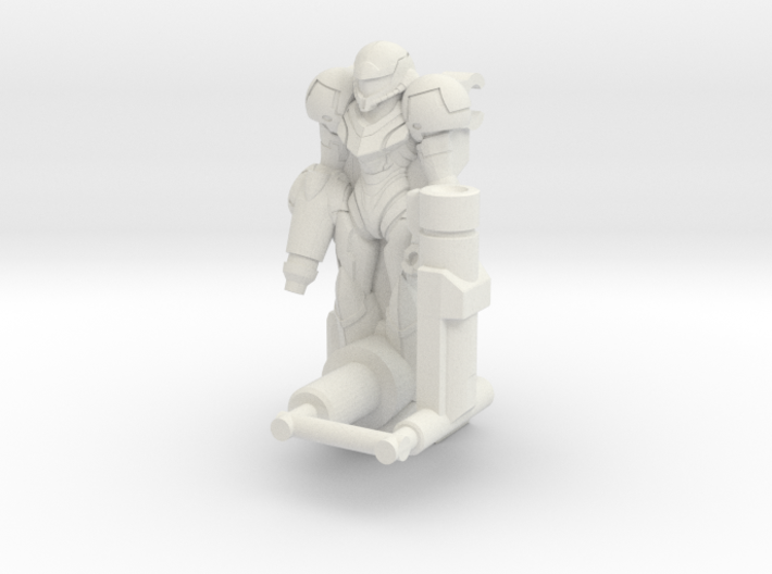 Zapmus Ion Transforming Weaponoid Kit (5mm) 3d printed