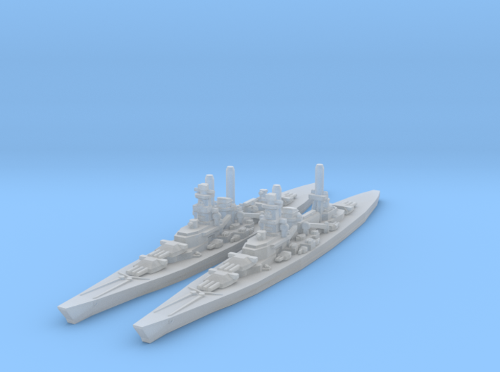 Scharnhorst and Gneisenau 3d printed
