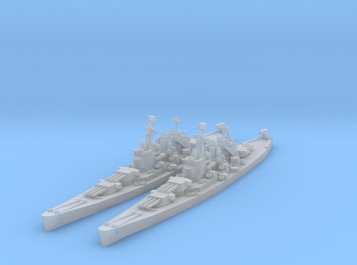 North Carolina class (Classic AA Size) 3d printed