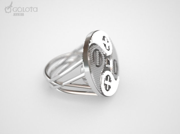 Ebiker Ring 3d printed Electric biker Ring