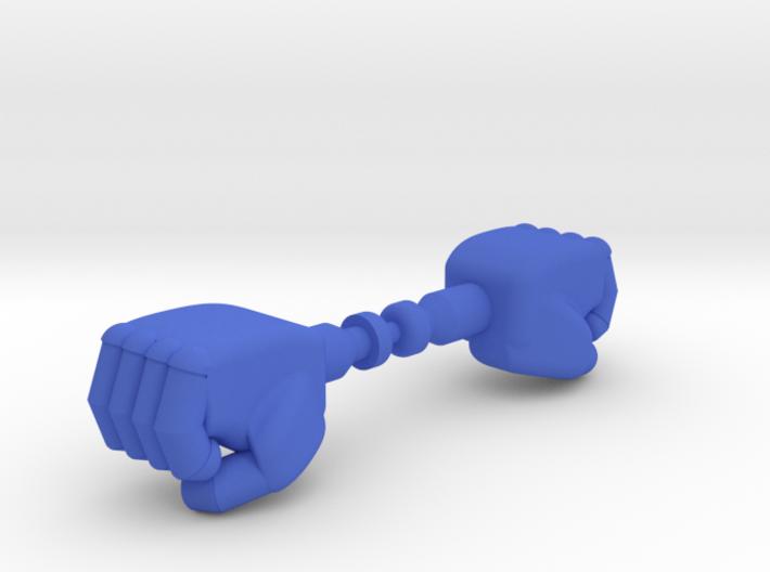 PRHI Jeeg/Karza/Force Commander Fists - Micronauts 3d printed