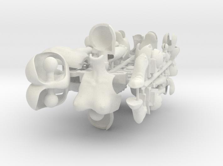 Eva4.2 - S Bust 3d printed