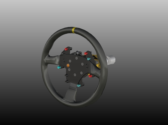 Steering Wheel P-RSR-Type - 1/10 3d printed
