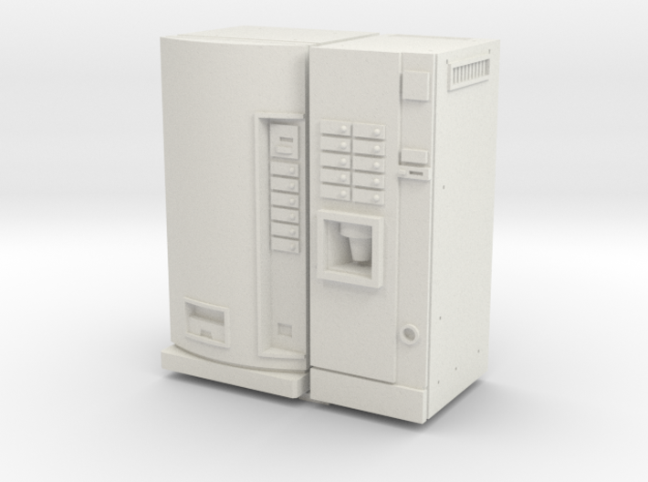 35mm Scale Coffee And Can Vending Machine 3d printed
