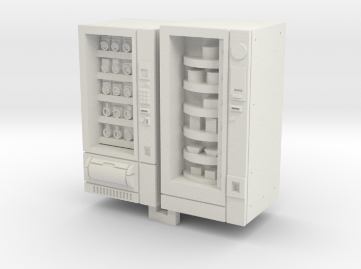 TT Gauge Snack And Food Vending Machine 3d printed