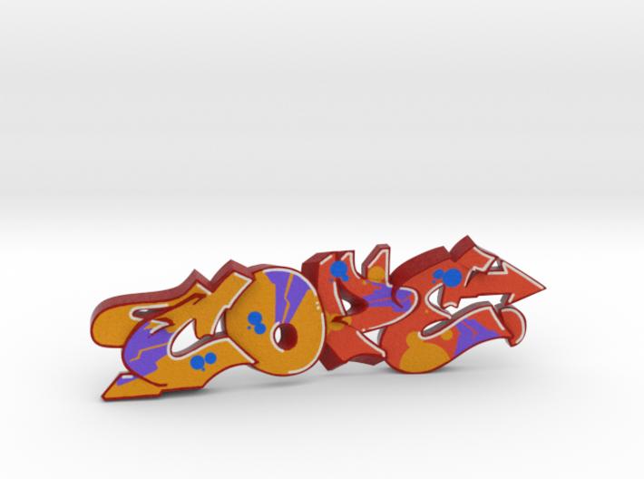 COPE graffiti sculpture 3d printed what's in the box