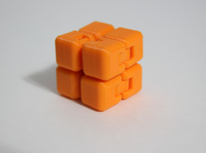 Fidget Cube Stress Reliever 3d printed