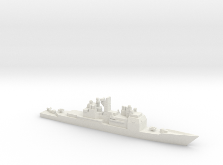 USS Ticonderoga (CG-47), 1/3000 3d printed